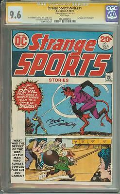Strange Sports #1 Ss Cgc 9.6 White Pages Signed By Nick Cardy