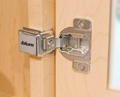 "(20Pcs) 3/8"" To 1-1/2"" Overlay Blum Cabinet Face Frame Compact Hinge"