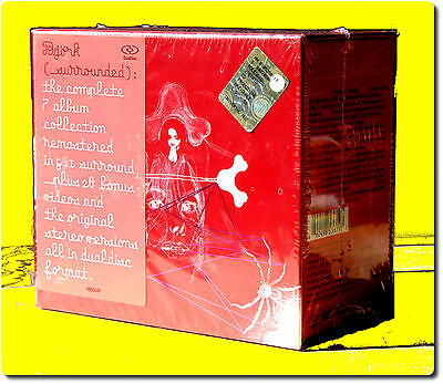 Bjork , Surrounded ( Box 7 CD Remastered in Dolby 5.1 and DTS)
