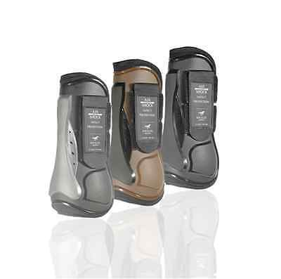KM Elite - Air Shock Tendon Boots - Strong, lightweight boots with air flow!