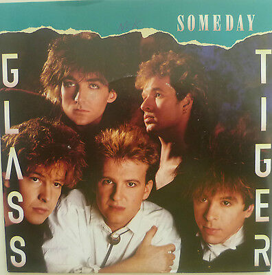 "7"" 1986 ! GLASS TIGER : Someday // MINT- \"
