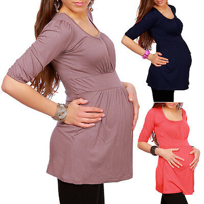 New MATERNITY WEAR Clothing TOP TUNIC Pregnancy Size 8 10 12 14 16 18 5006