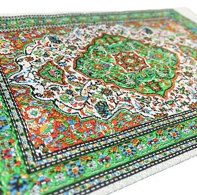 Dollhouse Miniature Embroidered Carpet Van Gogh Paniting ABSTRACT #OR303