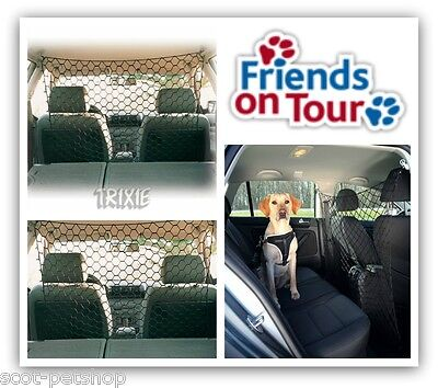 NEW Dog Car Safety Net Guard For Dogs Pets In Car Van