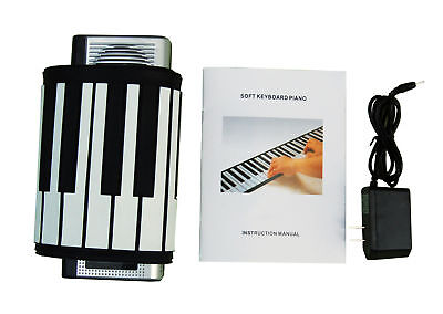 Brand New Electronic Roll Up Piano 61 Keys Roll-Up Keyboard PIANO