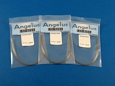 "Dental Orthodontic Oval Stainless Steel Arch Wire LOWER .016"" Kit /30 CREATIVE"