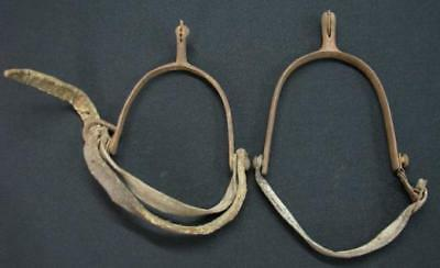 Rare Antique Ottoman Horse Spurs 19Th Century Turkish Stirrups Turkey