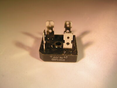HY Electronic Co. Bridge Rectifier GBPC3510 35A 1000V Faston Terminals OM0367
