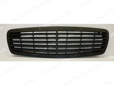 02 03 04 05 06 Mercedes Benz E Class W211 Style Assembly Grille Matted BLK Grill