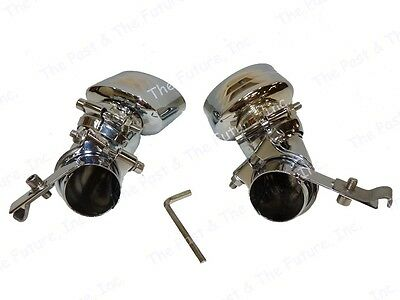 02 03 04 05 06 07 Mercedes Benz E Class W211 Style Exhaust Tip Tail Pipe Single