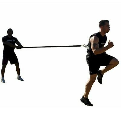 WORKOUTZ SHOULDER RESISTANCE HARNESS POWER SPEED AGILITY FITNESS FOOTBALL TRACK