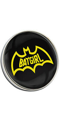 Batgirl Logo Clutch Pin Badge Choice of Gold/Silver