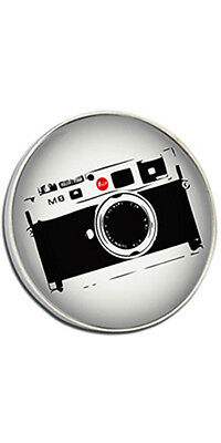 Leica M8 Clutch Pin Badge Choice of Gold/Silver