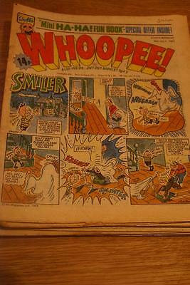 WHOOPEE COMIC  31st Oct  1981