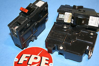 Federal Pacific  20 Amp 1-Pole  Breaker Type Na