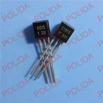 50pair OR 100PCS  Transistor TOSHIBA TO-92 2SA1015-Y/2SC1815-Y A1015-Y/C1815-Y