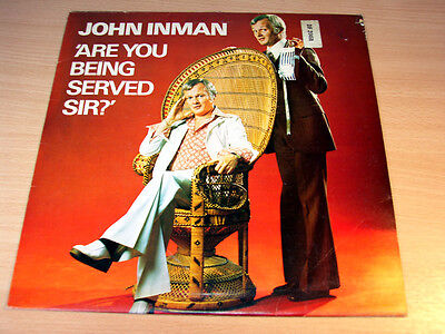 John Inman/Are You Being Served/1975 DJM Comedy LP/EX-