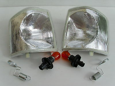 Land Rover Discovery 300Tdi Clear Indicators Front Pair - New Lamps