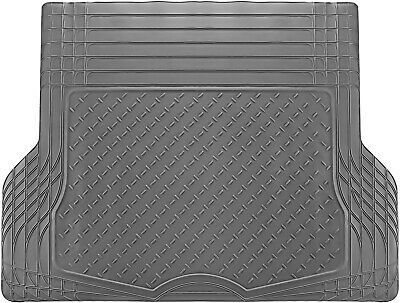 Trunk Cargo Floor Mats for SUV Van Truck All Weather Rubber Gray Auto Liners