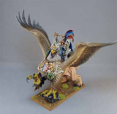 Warhammer Age Of Sigmar The Empire Karl Franz On Deathclaw Painted