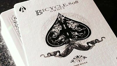 White Ghost SVENGALI Ellusionist - Forcing Deck Playing Cards Magic Trick Gaff