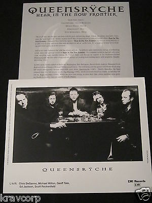 Queensryche 'Hear In The Now Frontier' 1997 Press Kit—Photo