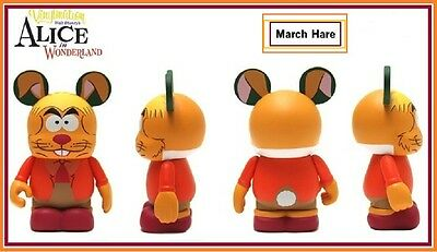 """DISNEY VINYLMATION 3"""" ★ ALICE IN WONDERLAND ★ MARCH HARE ★ SOLD OUT ★"""