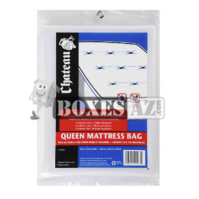Queen Mattress Bag fits Pillow Top  and California Queen Mattress Box spring