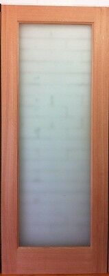 ON SALE  Brand new One Lite Entrance Doors 2040X820 with frosted glass $99