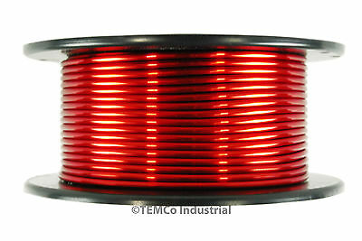 TEMCo 12 AWG Gauge Enameled Copper Magnet Wire 1lb 155C 50ft Coil Winding