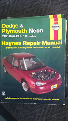 HAYNES Dodge and Plymouth Neon: 1995 Thru 1999