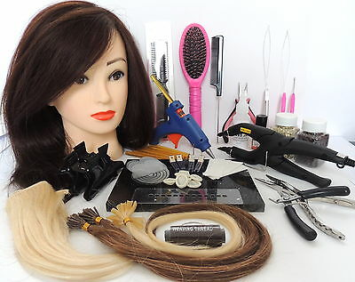 Micro Ring  Hot Fusion Remy Hair Extensions  weaves bonded HOME TRAINING COURSE