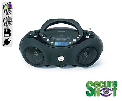 Boom Box Radio/CD Player Covert Hiden Spy Nanny Camera/DVR Color Voice/Audio