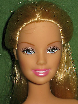 Growing Hair Rapunzel Barbie-Nude For One Of A Kind