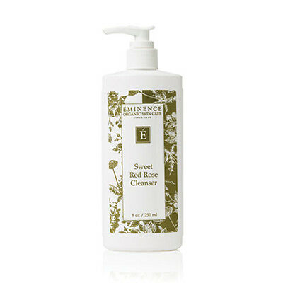 Eminence Organics Sweet Red Rose Cleanser  8 oz / 250 ML NEW