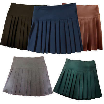 Britney Spears School Uniform Short Skirts with Pleat childrens and adults 5 col