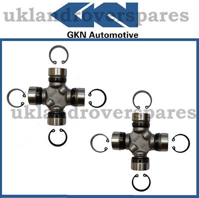 LAND ROVER SERIES 2 /& 3 GKN PROPSHAFT UJ UNIVERSAL JOINTS PAIR RTC3346 NEW