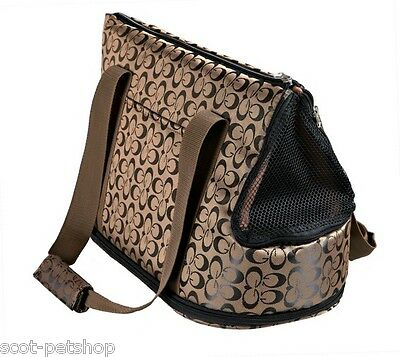 NEW Georgia Bag Brown For Cats & Dogs 36229