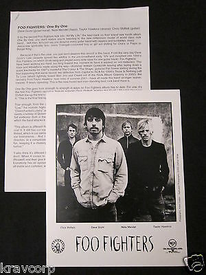 Foo Fighters 'One By One' 2002 Press Kit—Photo