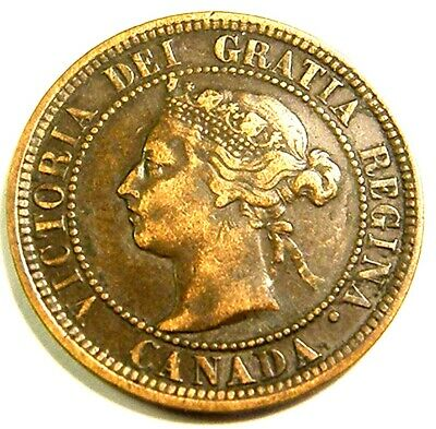 1888 CANADA LARGE CENT Nice One TAKE A PEEK