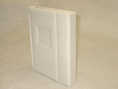 8x10 ivory Self Mount Wedding/Parent Photo Album - 30 Page (Engraving Available)