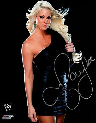Maryse Signed Autograph WWE Diva 8x10 Promo Photo