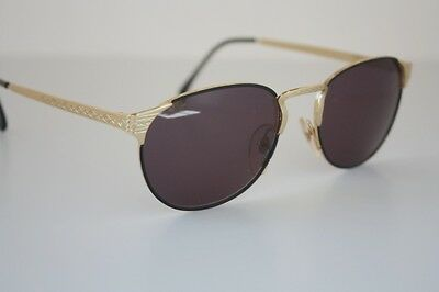 Vintage Filos Gold Sunglasses 5338 Made in Italy 52-18-135 NWT