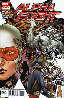 Alpha Flight #4 Variant Gay Northstar