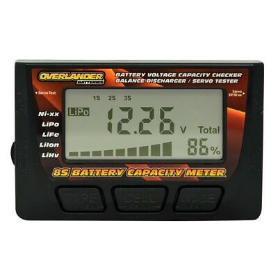 Overlander NiMh and LiPo Voltage Cell and Capacity Battery Checker OL-2333