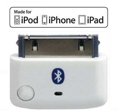 KOKKIA i10 (White) MULTI-STREAM Bluetooth iPod Transmitter, for iPod/iPhone/iPad