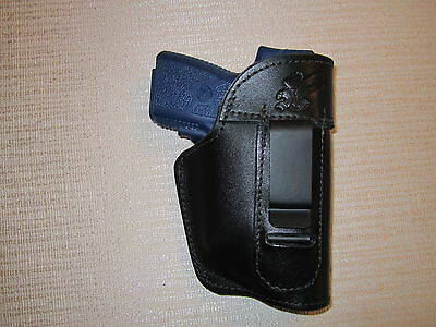 Kahr Pm9 & Cm9 With Laser, Leather Ambidextrous Gun Holster, Right & Left Hand
