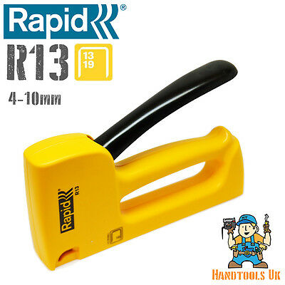 Rapid R13 Staple Gun / Tacker / Stapler - Upholstery & DIY - Ergonomic 13 Series