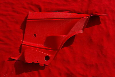 1970 71 72 73 74 CUDA REAR INTERIOR DOOR PANELS SET OF 2, COUPE ONLY, RED