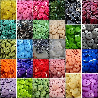!!LOT OF COLOURS!! 10pcs CUTE HEART BABY ITALIAN BUTTONS 15mm-C1161 SEWING SHIRT